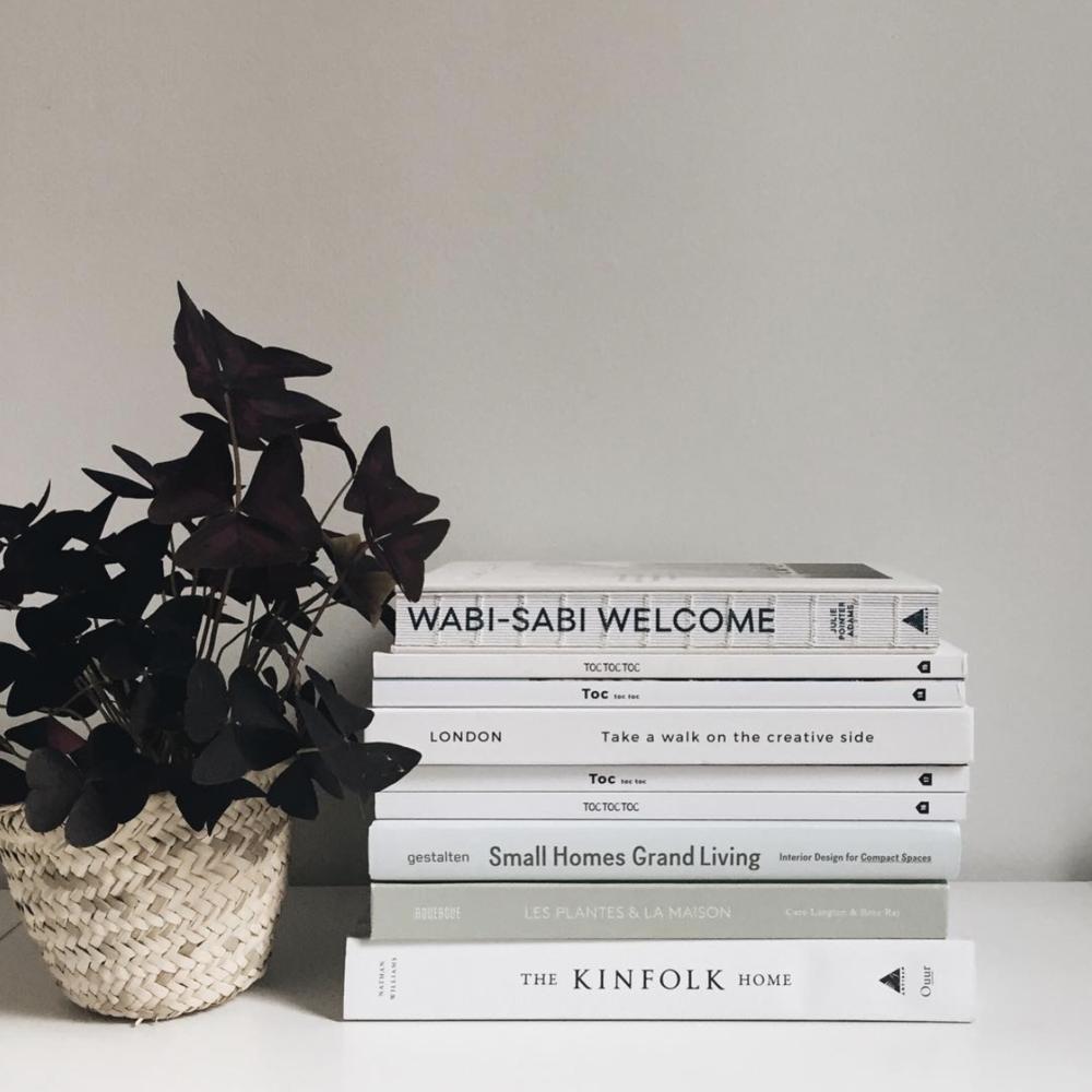 Des plantes et des lectures inspirantes