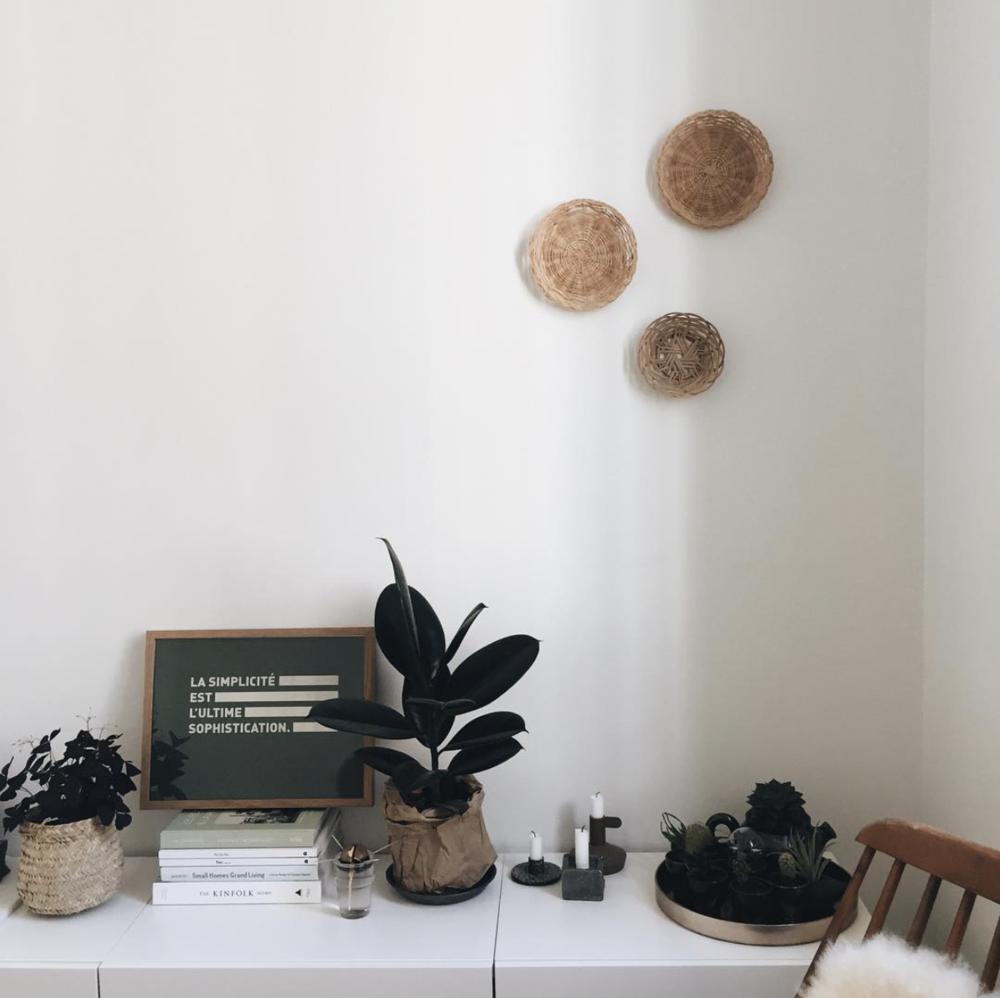 Des plantes, des bougies et des lectures inspirantes