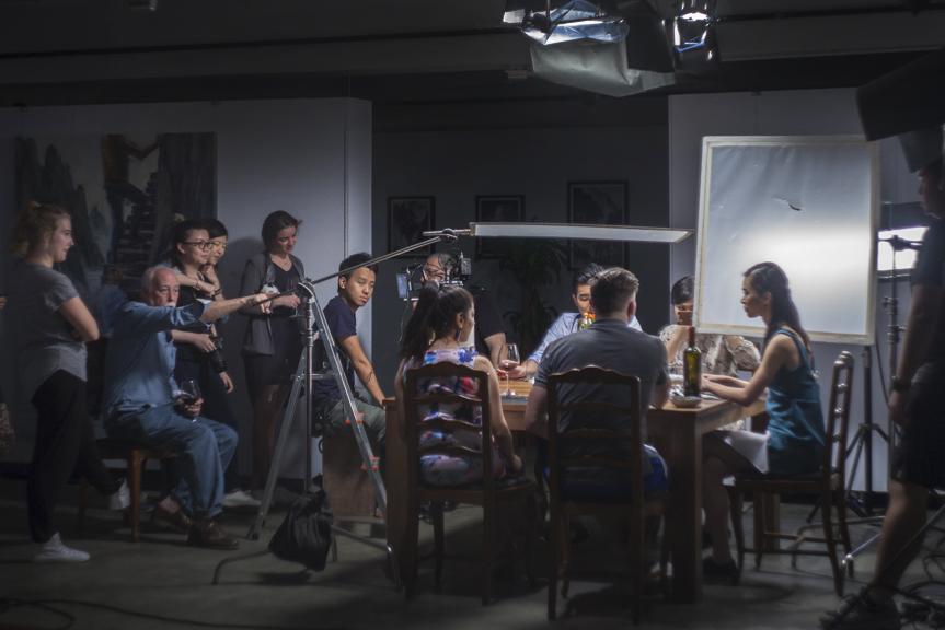 Behind the scenes: Food Panda shoot