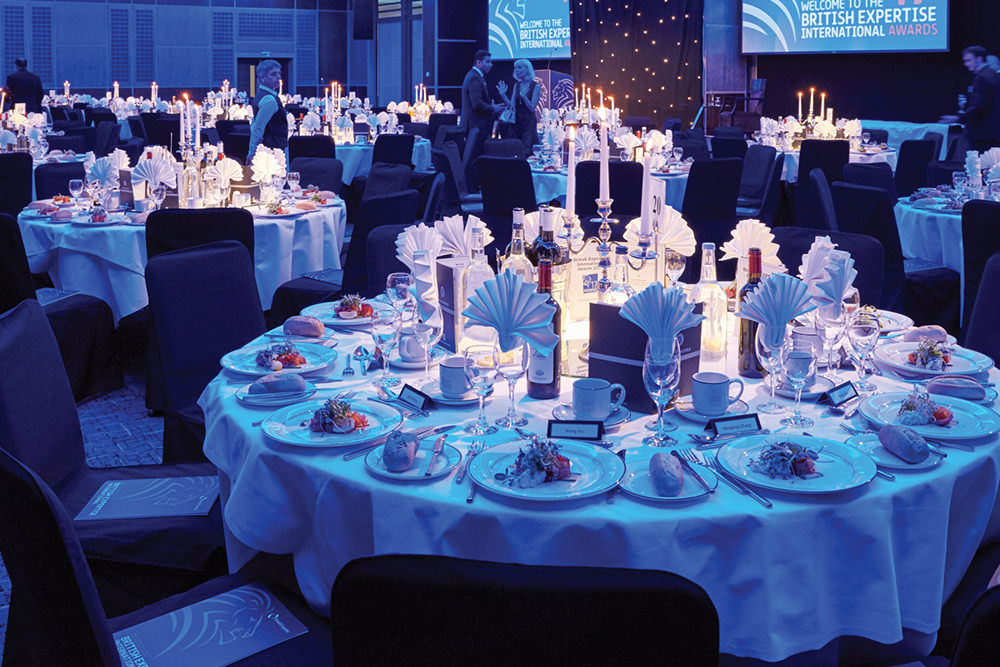 The Venue   The British Expertise International Awards 2019 will take place on 17th April 2019 at the prestigious Royal Garden Hotel in Kensington, situated in the heart of London's West End.