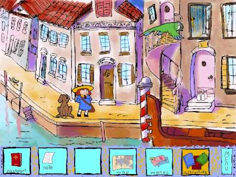 Screen Shot of Madeline's European Adventures
