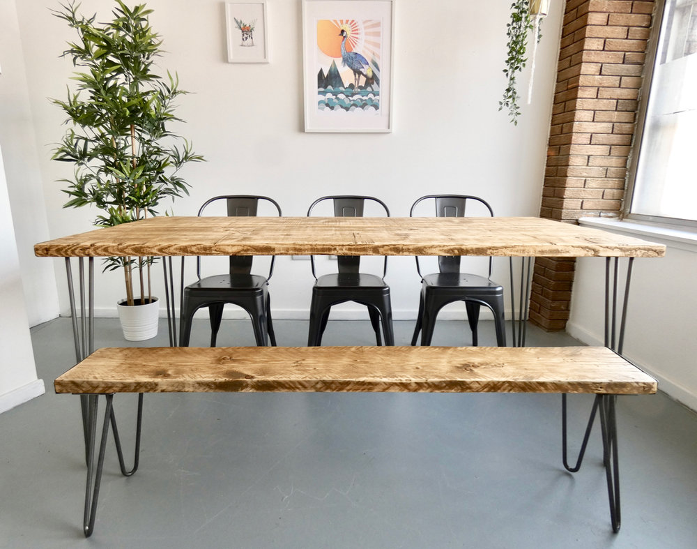INDUSTRIAL DINING TABLES -