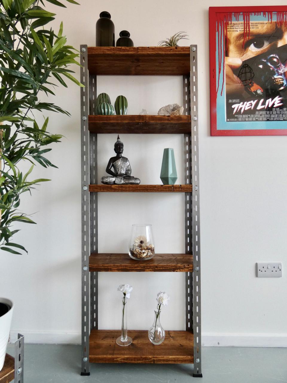 Industrial Bookshelves -