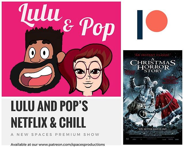 We launched a #patreon to help get support for all the shows we are producing!  Our 1st premium show stars @luluandpop and its called Lulu and Pop's Netflix and Chill! Think if it like Mysterious science Theater with cursing and better movies!! Listen to our 1st episode for free at  http://tiny.cc/luluandpop and then sign up for the Patreon - link in bio! - - - - - - - -  #phillypodcasters  #phillypodcast  #philly #phillysupportphilly  #news #popculture  #podernfamily #podcasters  #podsincolor #listen #spaces #spacesphilly