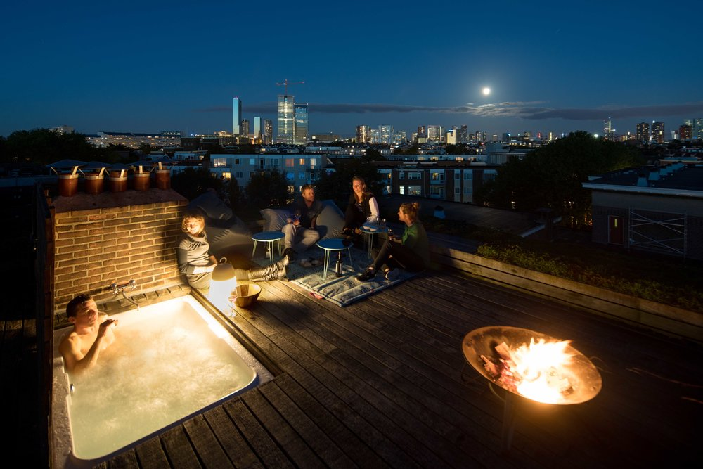 on top of Rotterdam   penthouse with wellness and roof deck