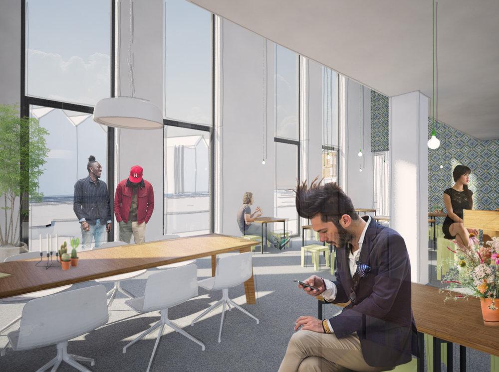 WAM   multifunctional building and neighborhood hub