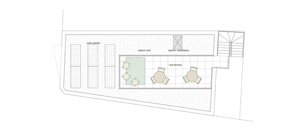 roof terrace plan