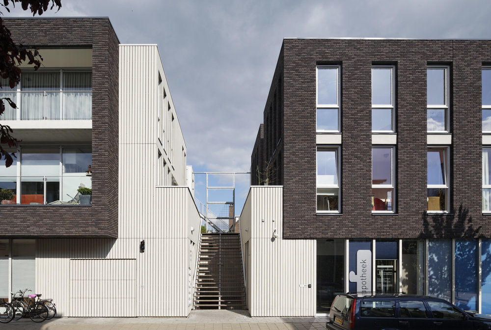 revitalized city block brings care to a neighbourhood   multifunctional facility with health clinic, ten residential apartments and underground parking in Nijmegen
