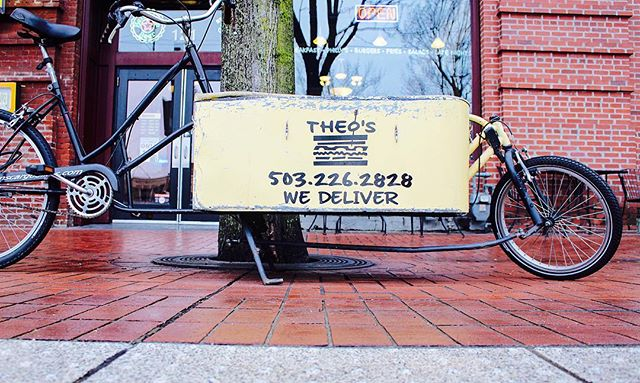 In the downtown area and need food delivered!? Let Theo's take care of that! #wedeliver #digin