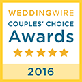 weddingwire couples' choice awards winner