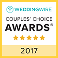 weddingwire couple's choice award winner