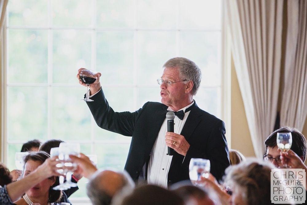 father of bride toast at wedding
