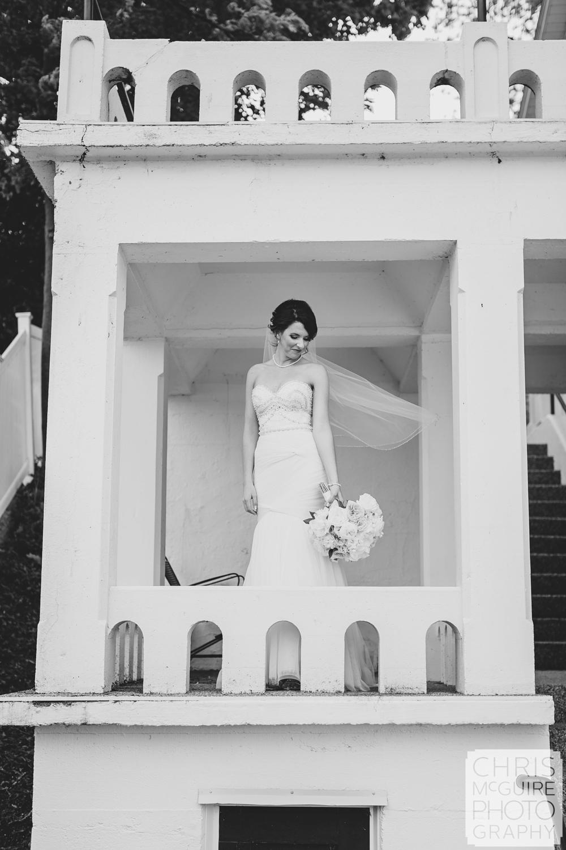 bride portrait central illinois