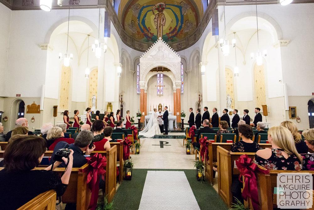 catholic church wedding central illinois