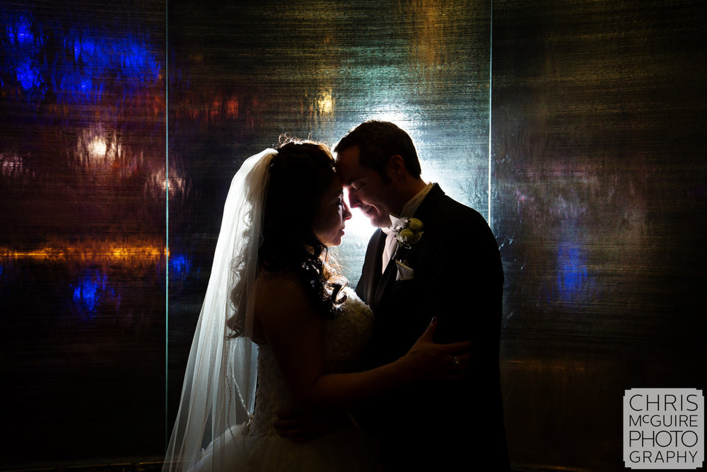 wedding intimate portrait