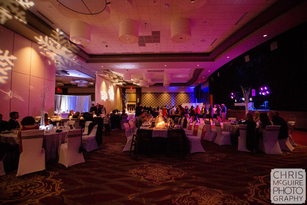 ballroom reception lighting