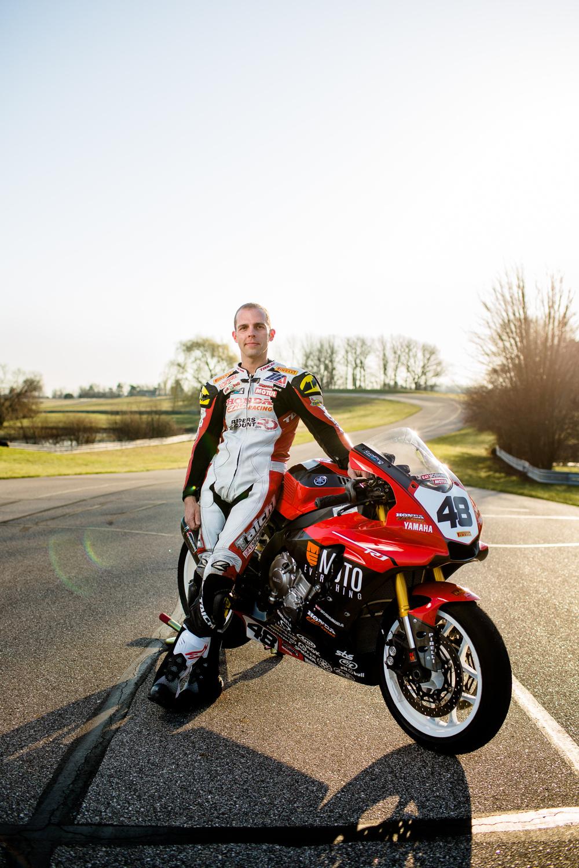 Eddie Kraft motorcylcle racer