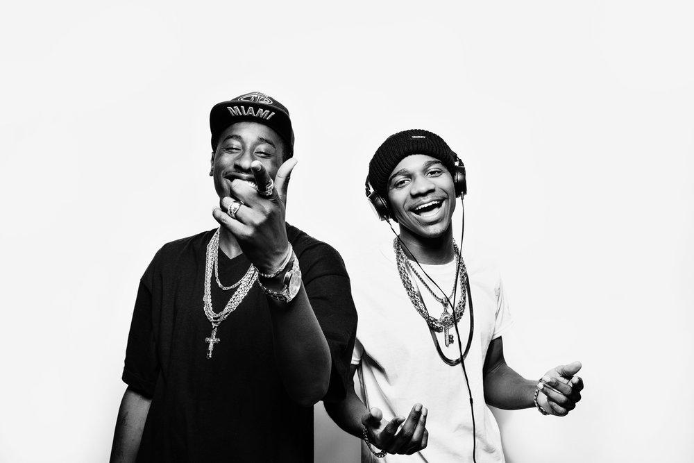 rappers studio portrait