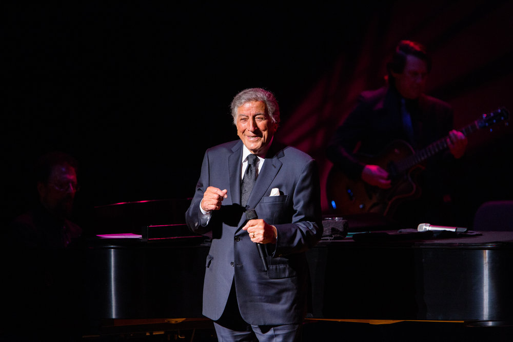 tony bennett performing at gilmore festival