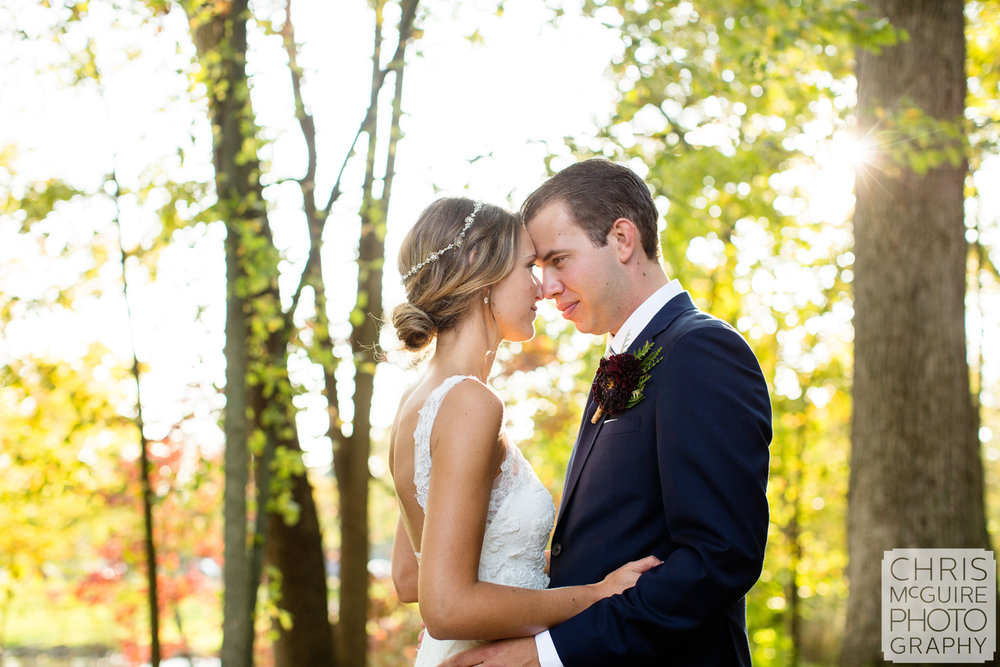 peoria il fall wedding photography