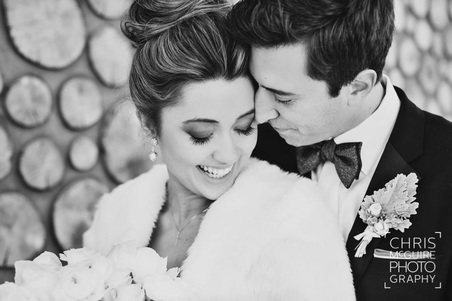 peoria winter wedding, chris mcguire photography