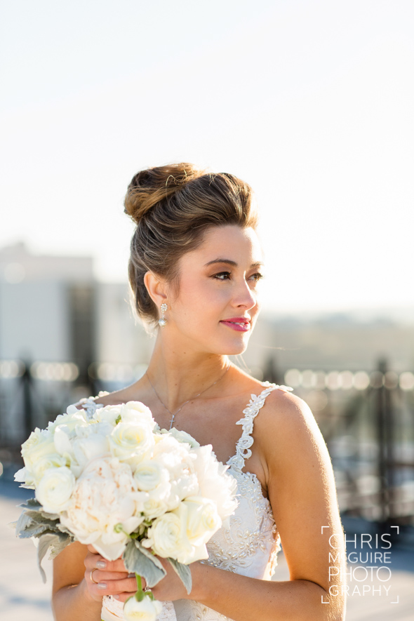 bride candid portrait central illinois