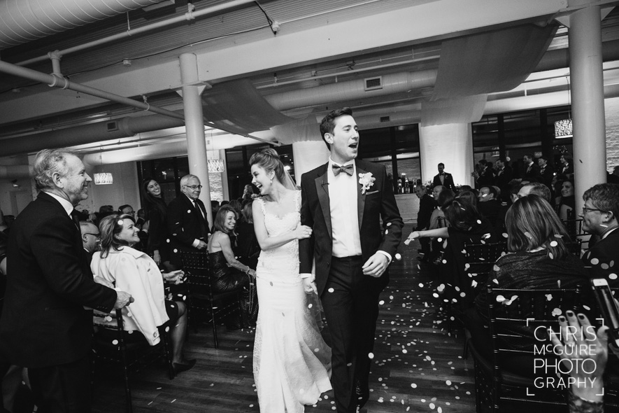 modern wedding photojournalism bride groom petals peoria