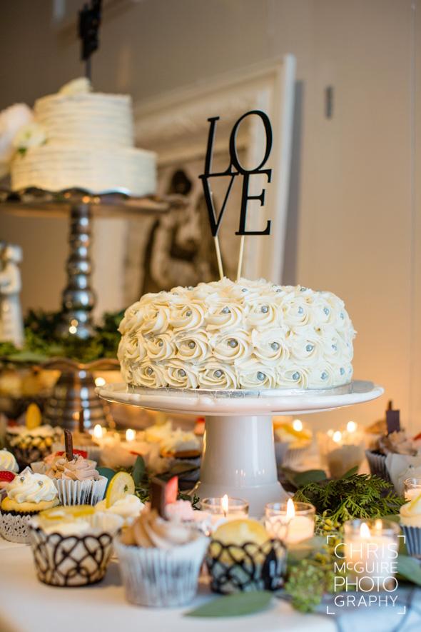 wedding cake love topper