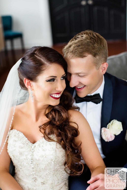 wedding couple portrait tux