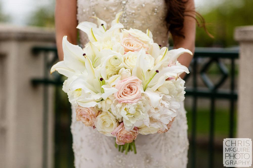 bridal bouquet dress