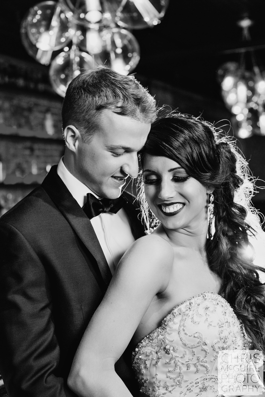 bride groom journalistic portrait