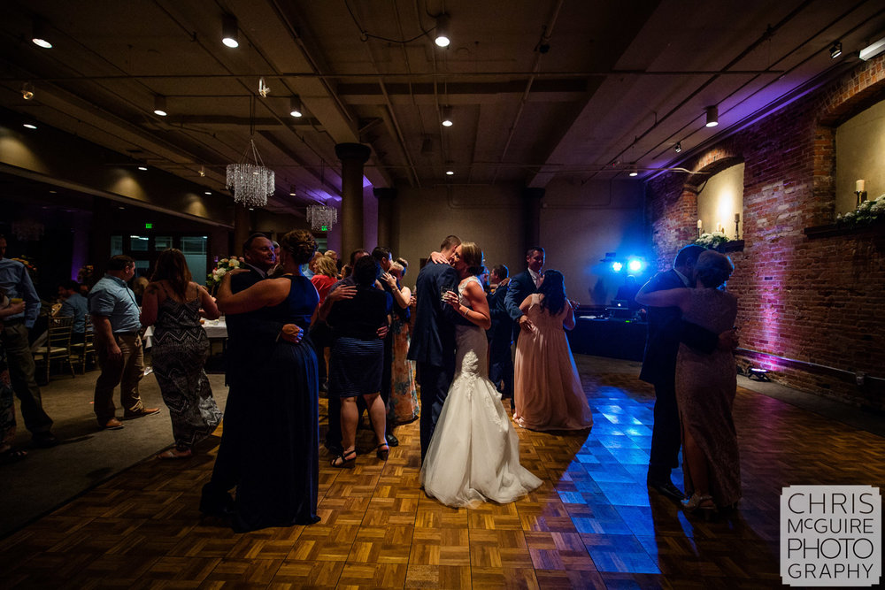 bride groom dance at wedding reception peoria