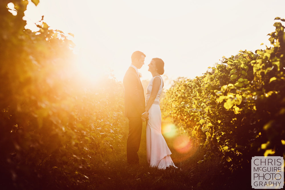 Vineyard Wedding by Chris McGuire Photography based in Peoria, Illinois