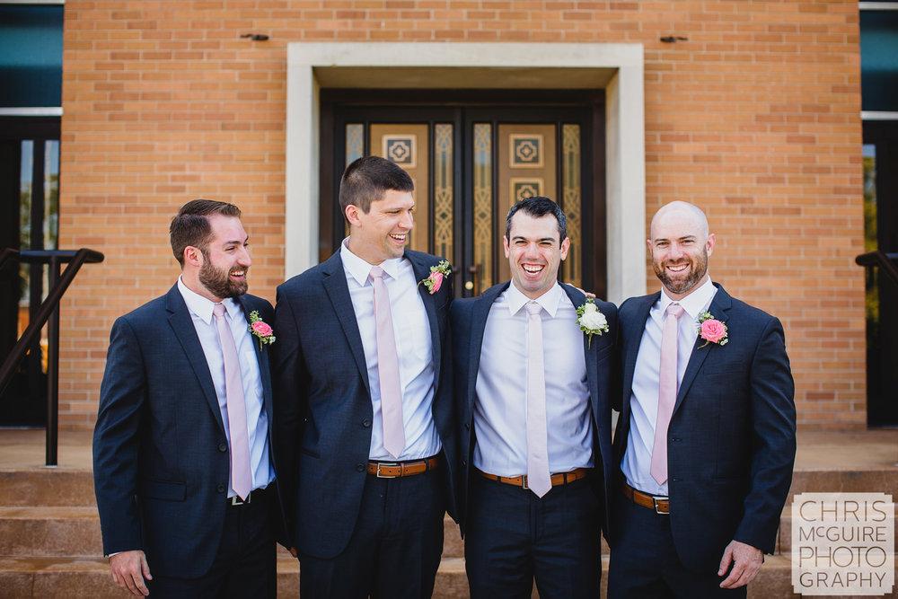 groom and groomsmen