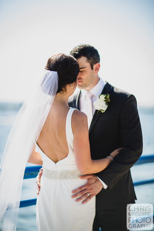 bride groom intimate portrait