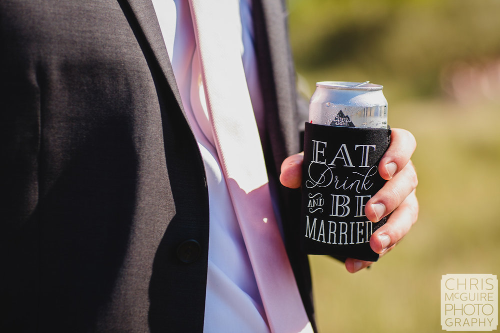 eat drink and be married coozy