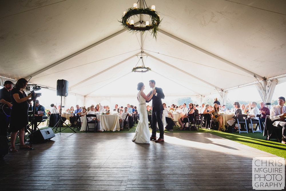 first dance at wedding reception peoria