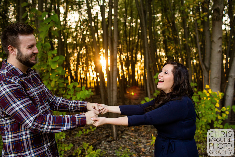 fun couple portrait in peoria
