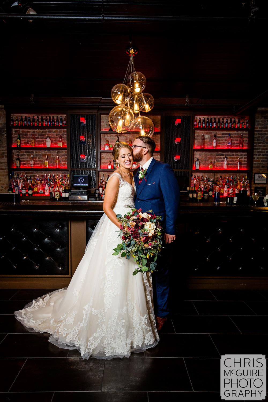 bride groom at gatsby loft 310