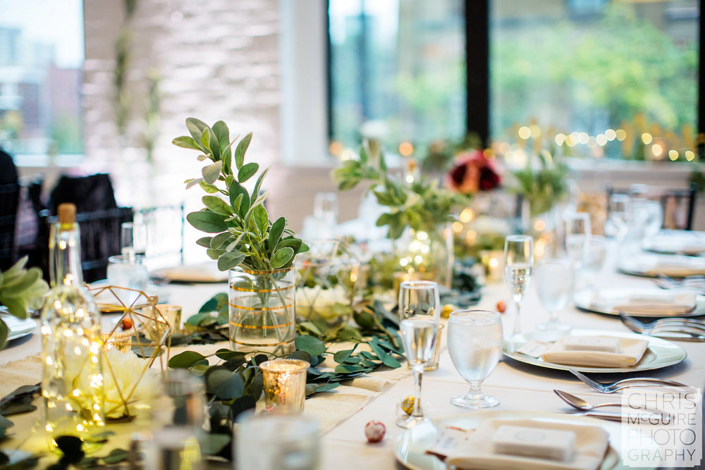 loft 310 wedding reception