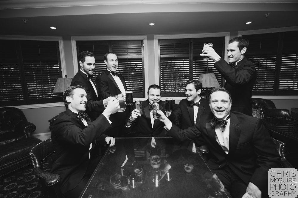 groomsmen toast central illinois