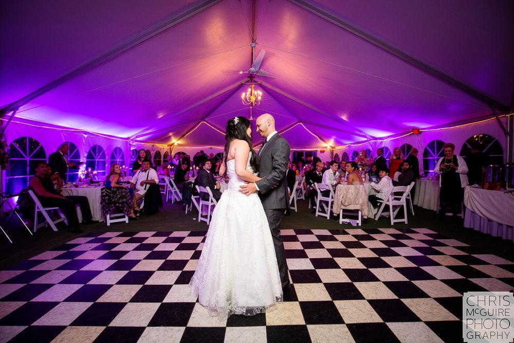 bride groom first dance Chicago wedding photographer