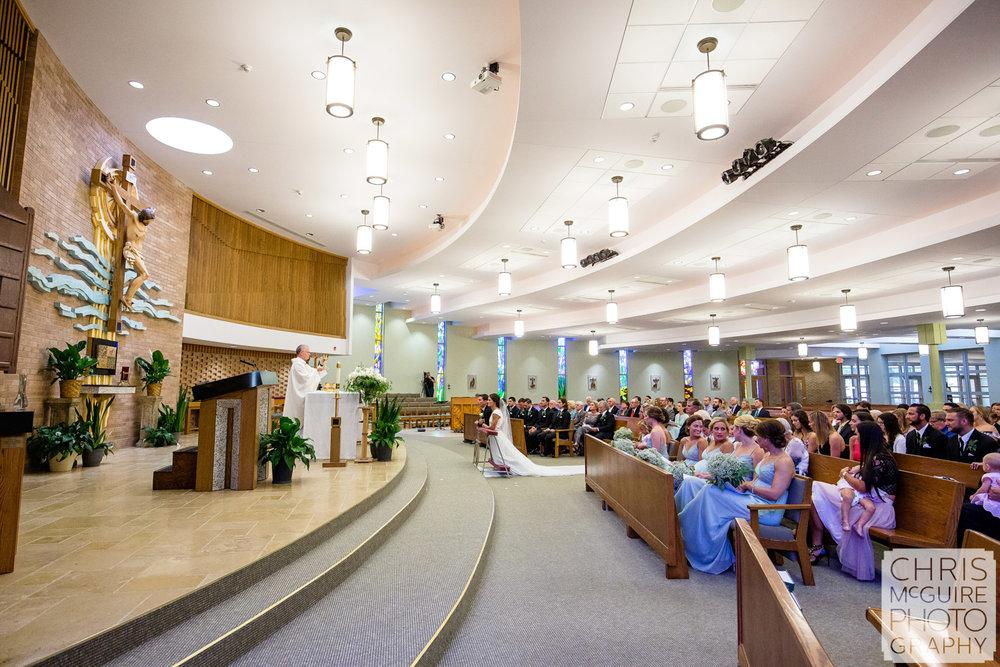 Blessed Sacrament Parish Morton Wedding