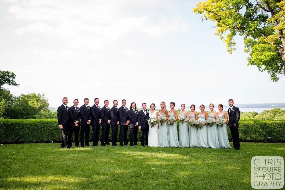 wedding party on grandview drive peoria illinois