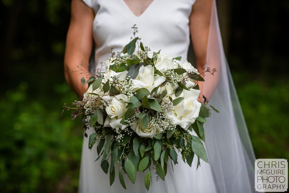 Peoria bridal bouquet