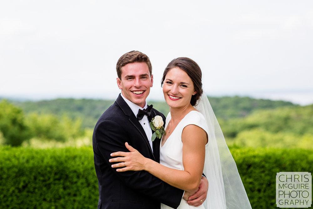 Central Illinois wedding portrait