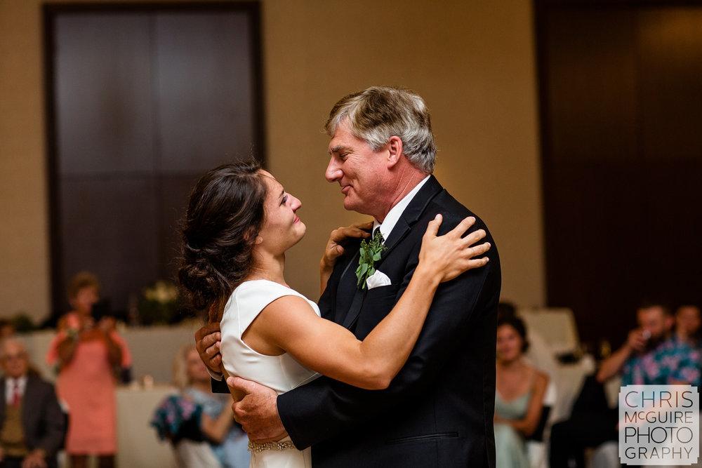 father daughter dance at Pere Marquette Peoria