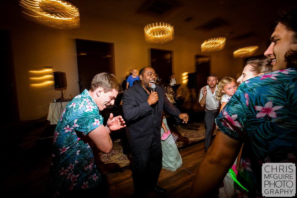 live band at peoria wedding reception