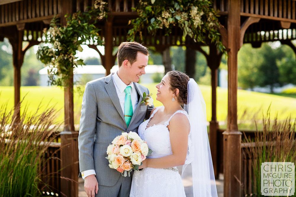 bride groom portrait Crestwicke Country Club