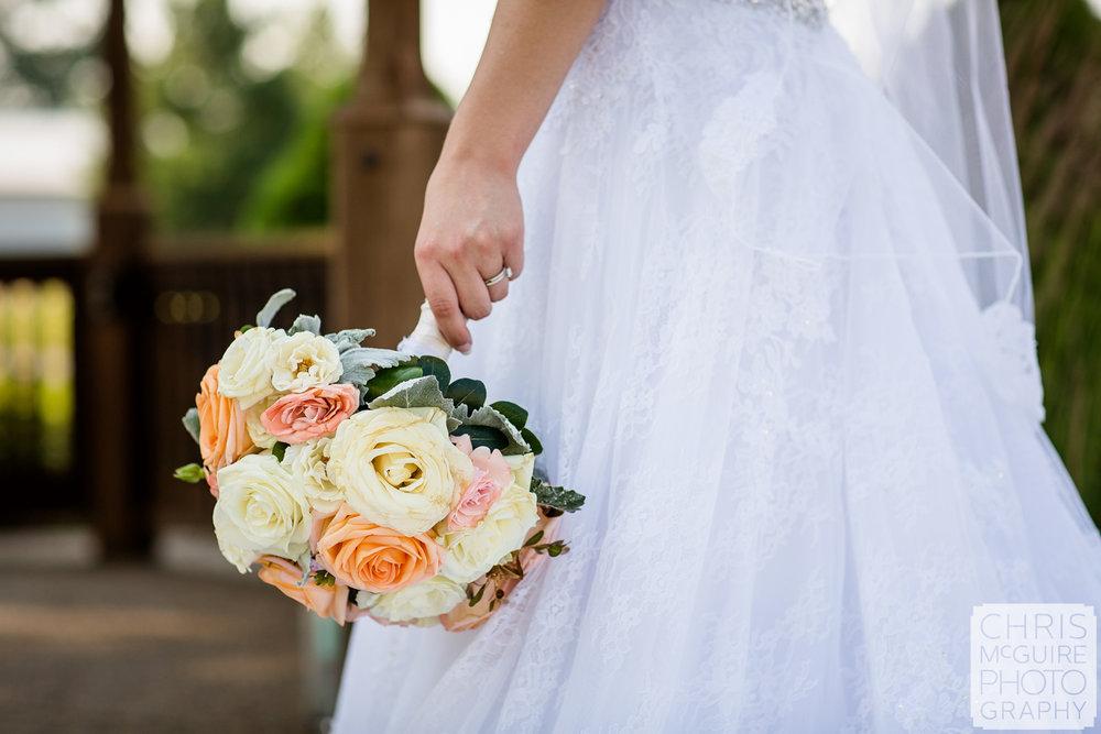 Forget Me Not Flowers bridal bouquet